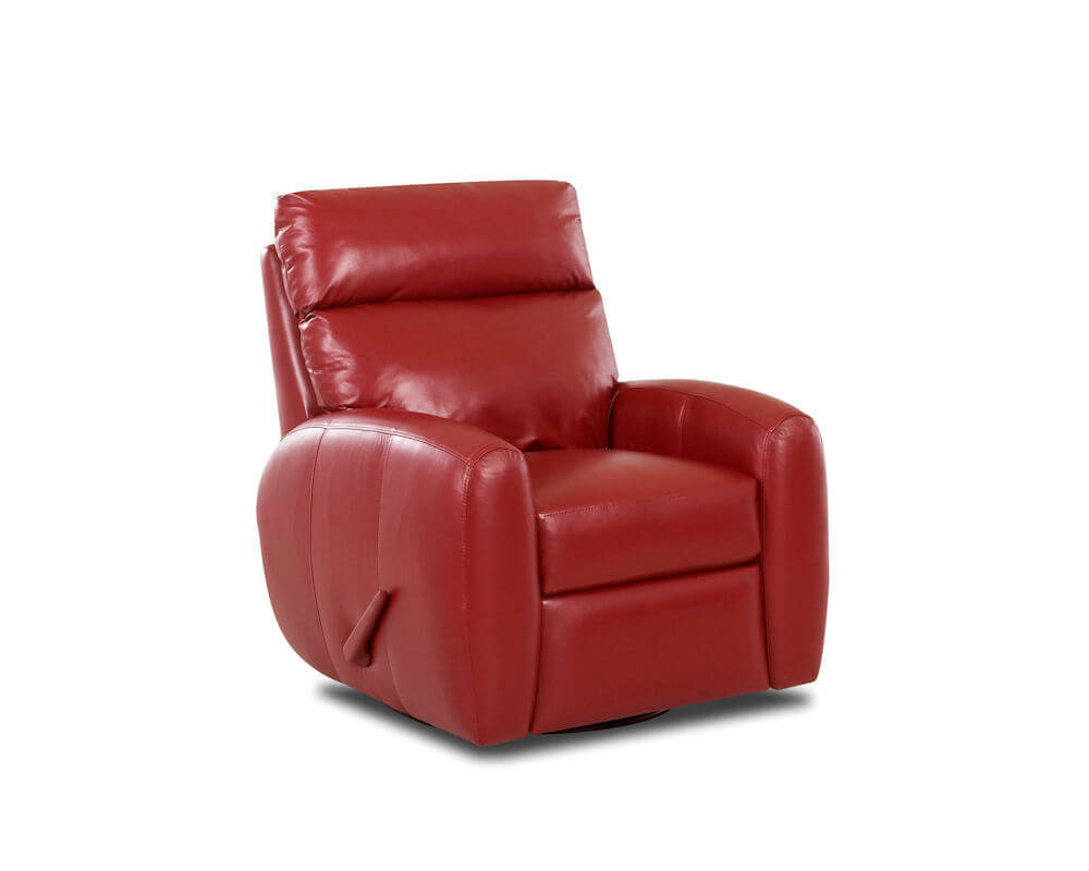 Red Leather Reclining Chair  Ventana Red Leather