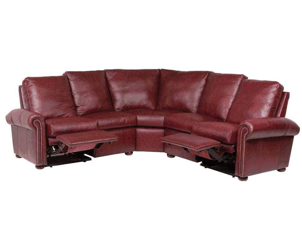 motorized sectional sofa corner table reclining sectionals by classic leather