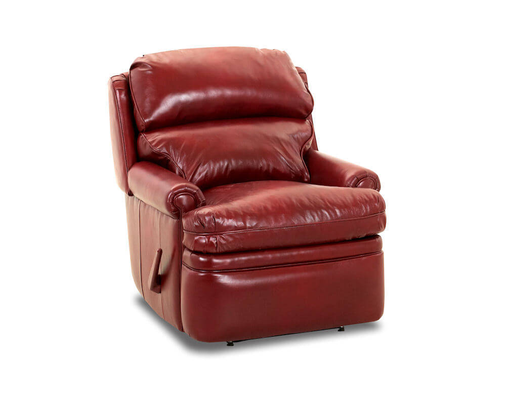 red recliner chairs chair leather recliiner american made classic club cl714