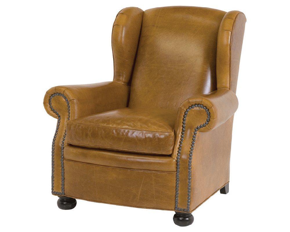 tan leather chair sale bjorn high classic cigar lounge 117761 furniture usa