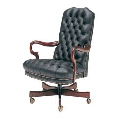 Tufted Desk Chair Fishing Hs Code Leather Swivel Office 806 St Classic
