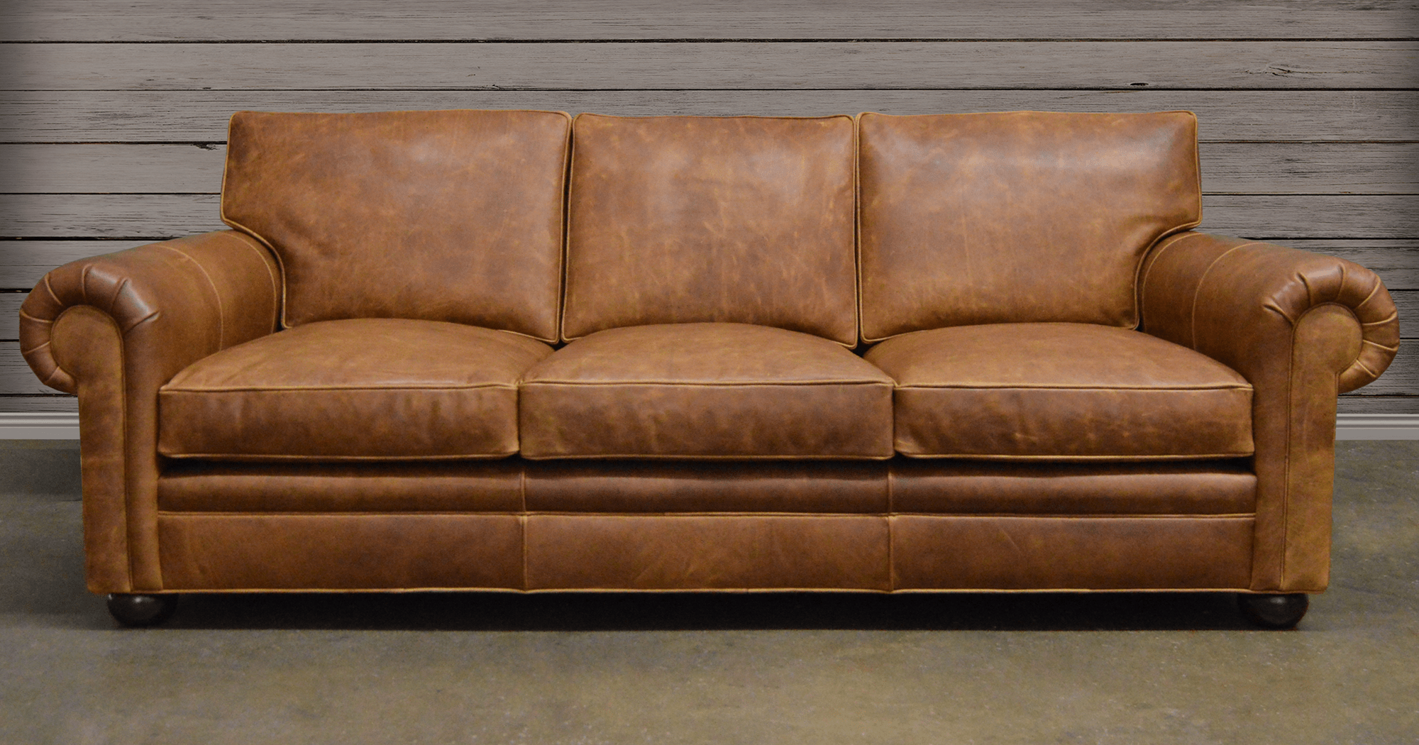 8 way hand tied sofa brands in canada sleeper sofas with air beds american made leather furniture chairs langston italian brentwood tan