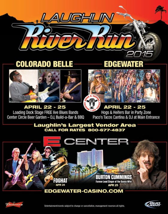Laughlin River Run April 22-26th
