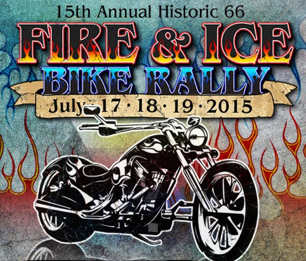 Fire & Ice Rally in Grants, NM July 17th-19th 2015!
