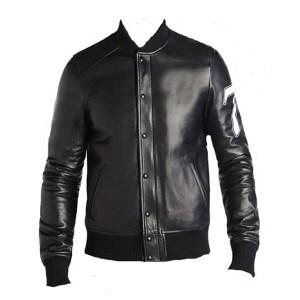Men's Bad Boy 78 Black Leather Jacket