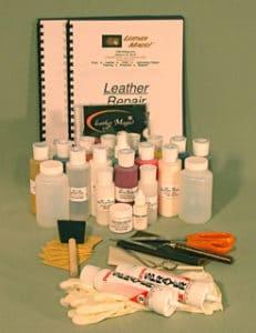 Professional Leather Repair : professional, leather, repair, Professional, Leather, Restoration, Starter, System, Magic!