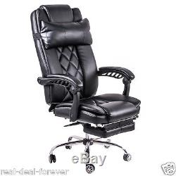 tub chair covers ireland tobias clear chrome plated luxury office high back computer adjustable leather recliner swivel