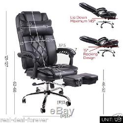 Luxury Office Chair High Back Computer Chair Adjustable