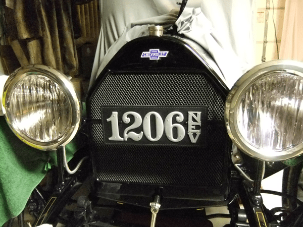 """""""Love the new plate! Here's a photo - you can see how good it looks on my '15 Royal Mail"""" -- Bill Carpenter"""