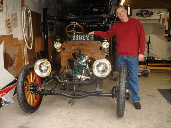 """""""Now that I have this great plate, we're almost ready for our 1912 Model 34 Buick Roadster's 100th anniversary debut! Thanks again, Steve. We love it!"""" -- Mark Shaw"""
