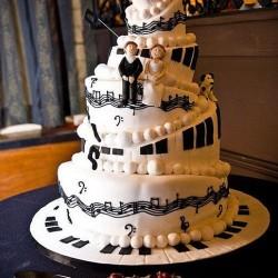 Music Theme Wedding Cakes  Home