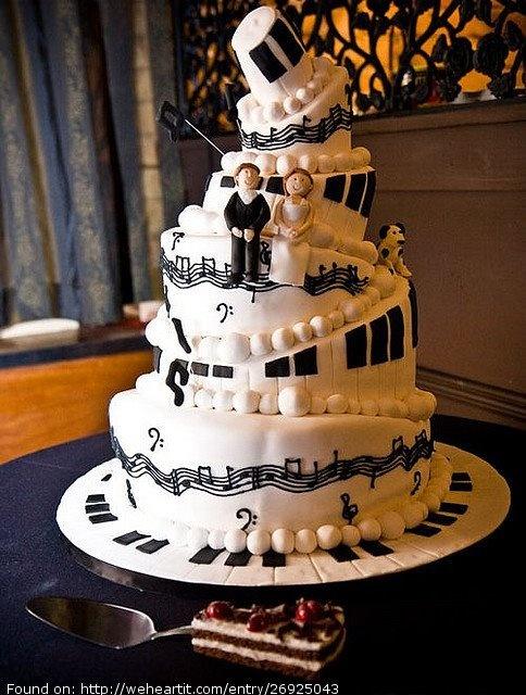 Music Theme Wedding Cake On Music Theme Wedding Page Home