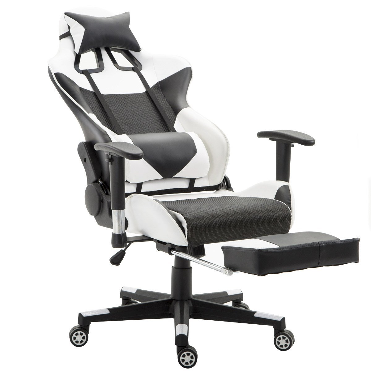 office chair ballet browning camp giantex gaming high back racing style reclining with