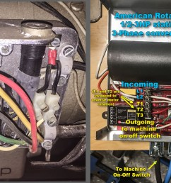 i did swap t1 and t2 wires inside the 3 phase converter to change the rotation of the motor you will read in many places that to change the rotation of a  [ 1614 x 825 Pixel ]