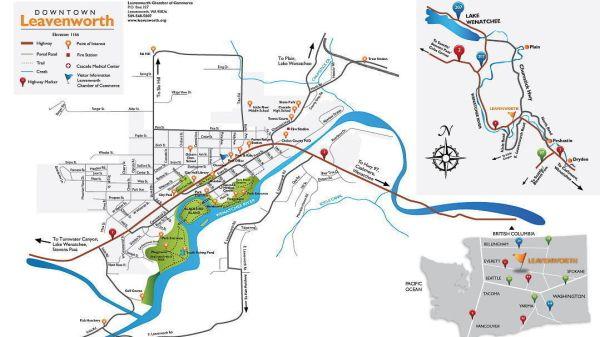 Maps Leavenworth Washington
