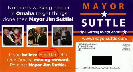 Suttle mailer 2013 front