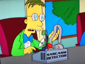 sarcasmdetectorsimpsons