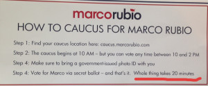 Rubio flyer in Kansas
