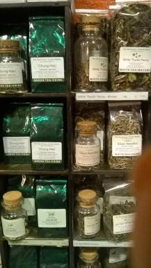 Snapshot of Teas at the Tea House