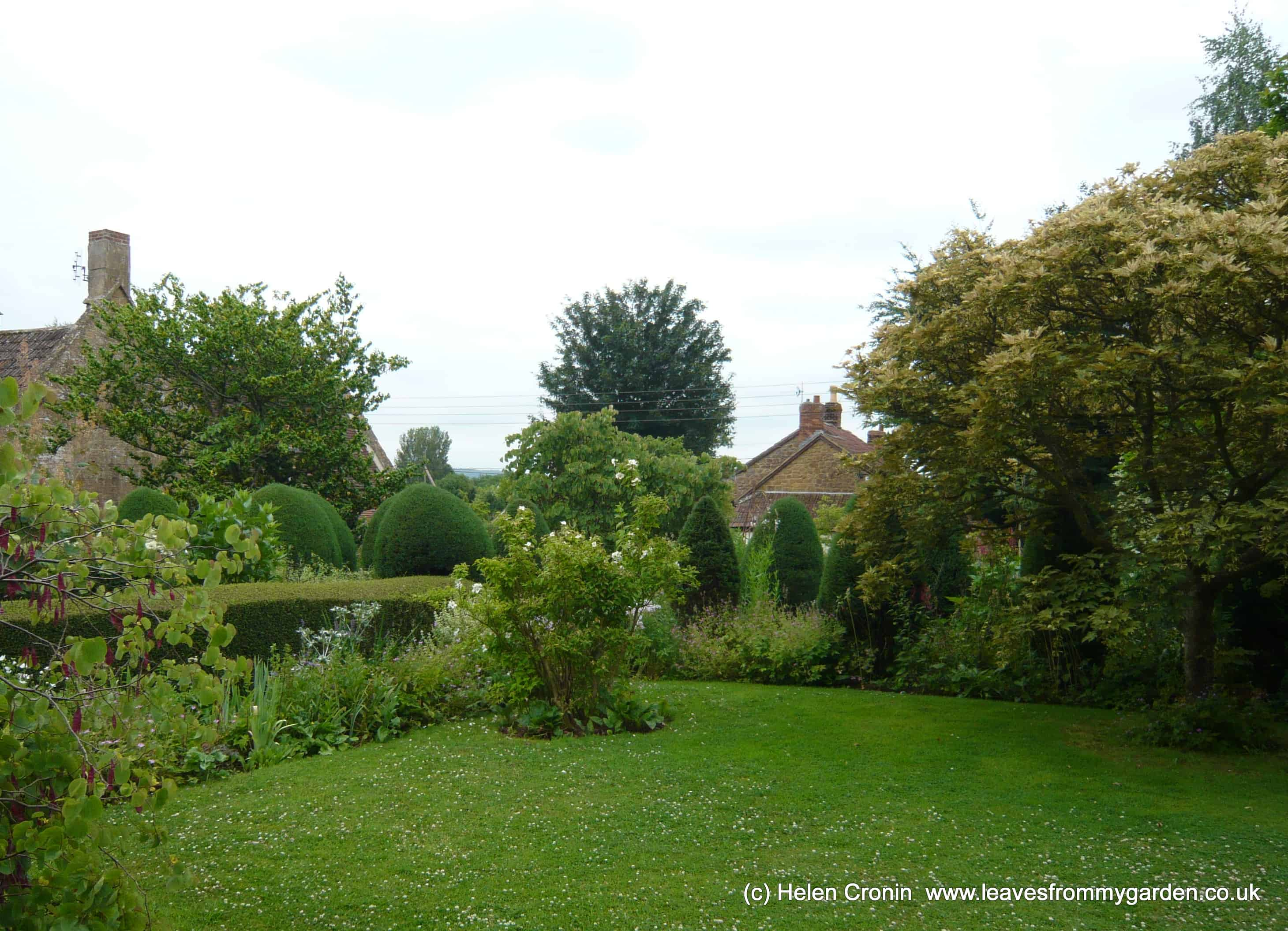 The Top Lawn garden created by Margery fish