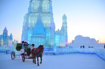 China Harbin Winter Ice