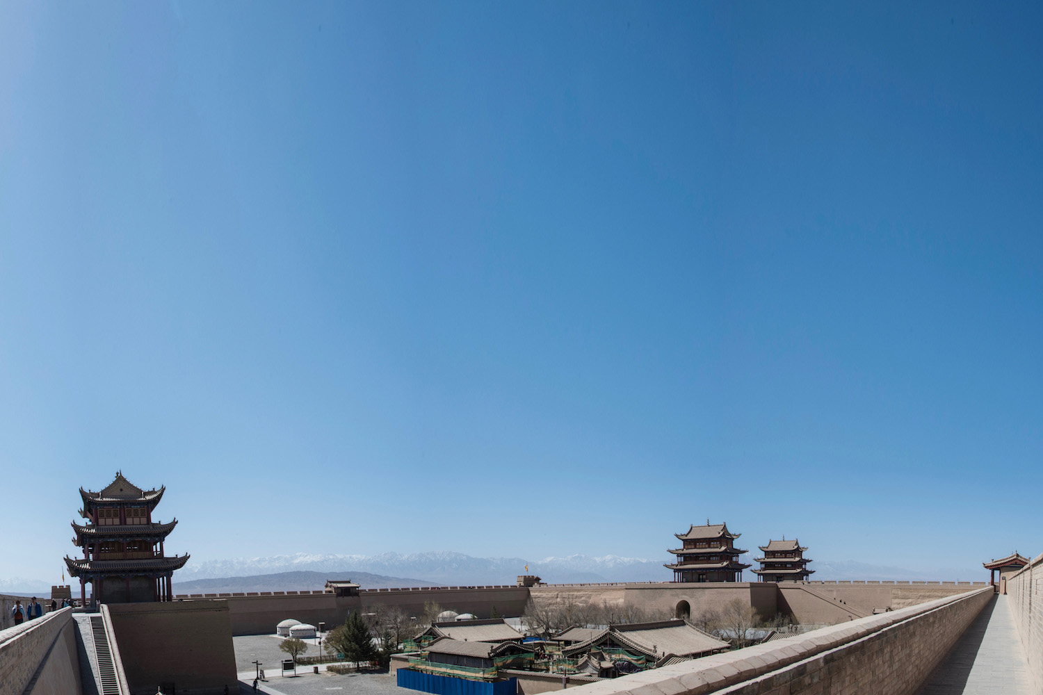 Jiayu Pass in Gansu, China