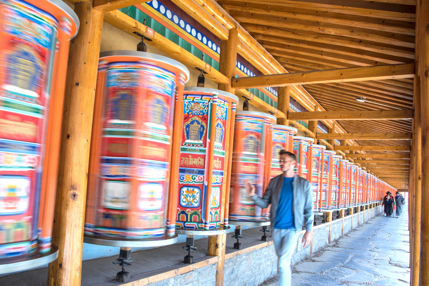 Labrang Monastery in Xiahe, Gansu, China