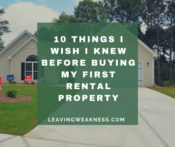 10 things i wish i knew before buying my first rental property leavingweakness. Black Bedroom Furniture Sets. Home Design Ideas