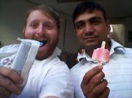 E per Alì, pure un bel gelato.