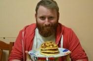 puok e med pancakes ricetta 40 confettura fichi uova strapazzate pepe bacon cipolla croccante egidio cerrone