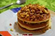 puok e med pancakes ricetta 44 confettura fichi uova strapazzate pepe bacon cipolla croccante