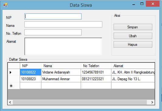 Menampilkan Data Dari Database MySQL Ke DataGridView VB.Net