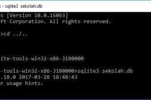 Tutorial Belajar SQLite Membuat Dan Mengeksport Database