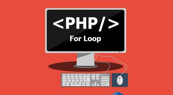 tutorial belajar php for loop