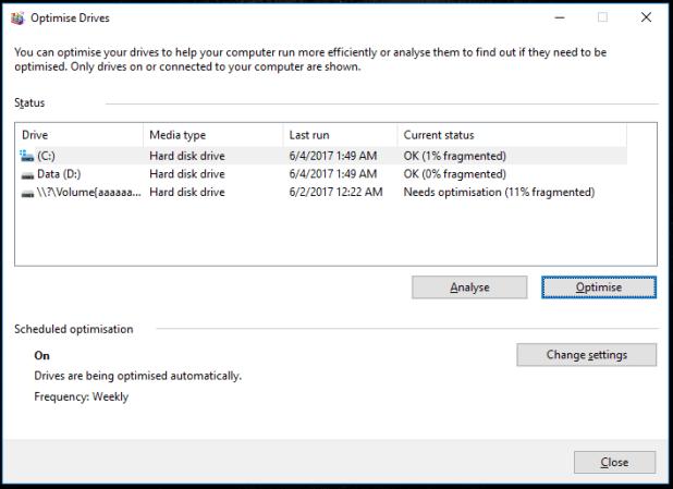 Cara Defrag Harddisk Komputer Di Windows