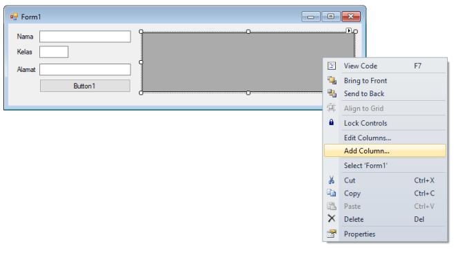 Cara Input Data Dari Textboxt Ke DataGridView di VB.Net