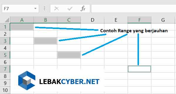 Row, Cell, Column dan Range Di Excel
