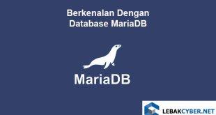 Berkenalan Dengan Database MariaDB