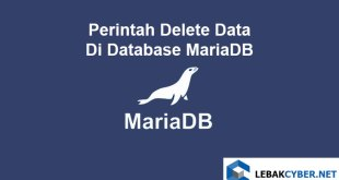 Perintah Delete Data Di Database MariaDB
