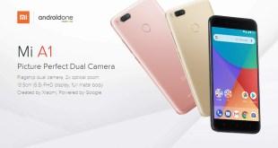 Xiaomi Mi A1 Mendapat Update Android Oreo