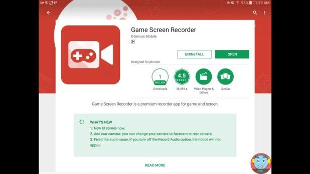 Aplikasi Untuk Merekam Layar di Android