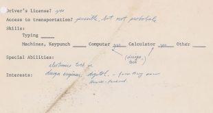 Surat Lamaran Kerja Steve Jobs Dilelang