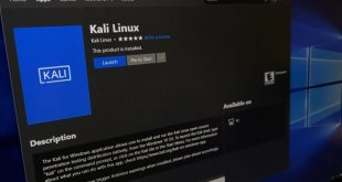 Kali Linux Sudah Tersedia Di Microsoft Store