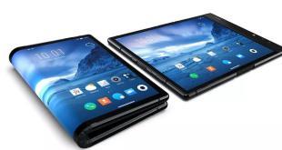 Smartphone Dengan Layar Lipat Pertama Di Dunia