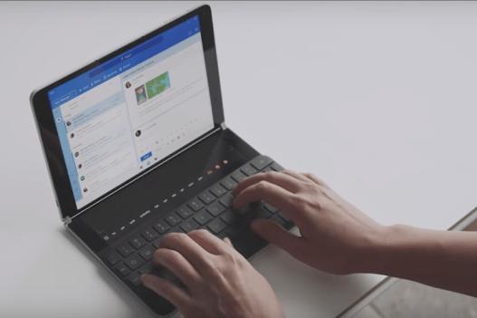 Microsoft Buat Ponsel Lipat Android Surface Duo