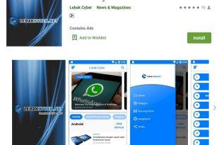 Daftar Aplikasi Dari Lebak Cyber