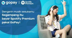Sekarang Bayar Spotify Premium Bisa Lewat GoPay