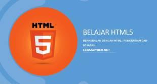 Berkenalan Dengan HTML