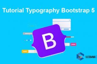 Tutorial Typography Bootstrap 5