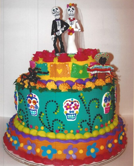 Dia de los Muertos Cakes  Sweets Archives  le Bakery Sensual